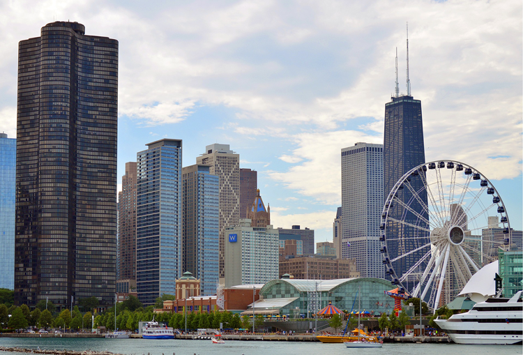 Weekend vacation to Chicago, Illinois