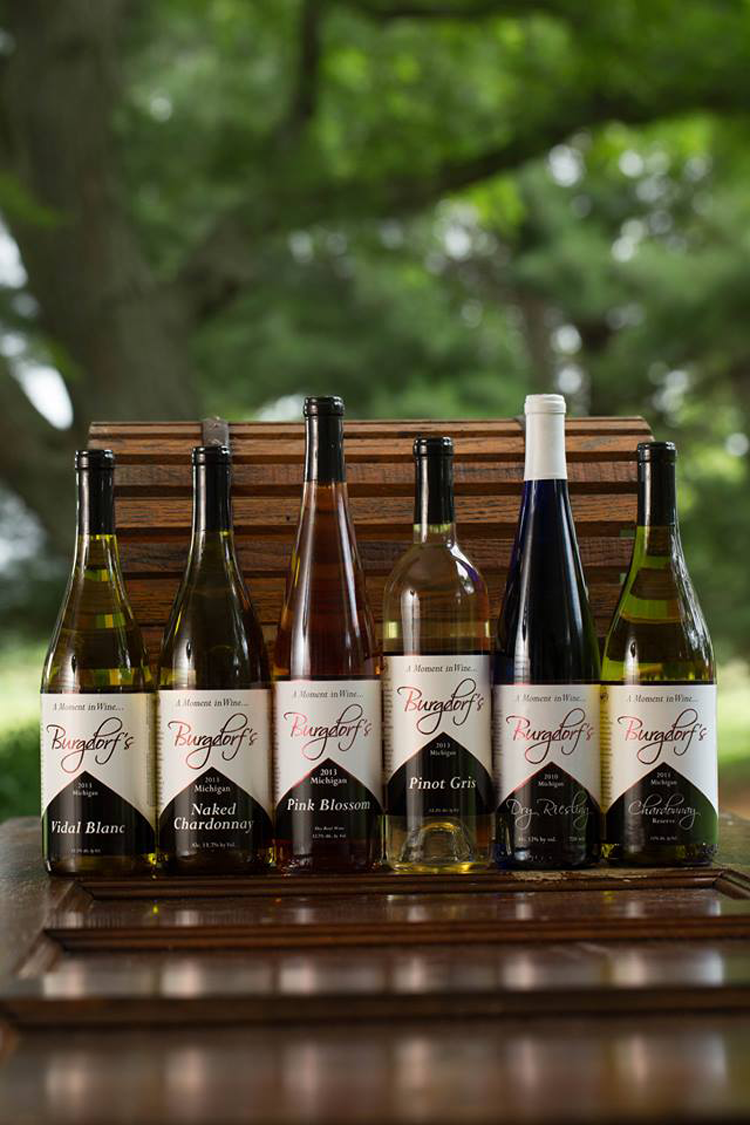 Burgdorf's Winery Southeast Michigan tasting rooms and wineries
