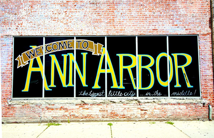 The best neighborhoods to live in Ann Arbor walkable Walk Score