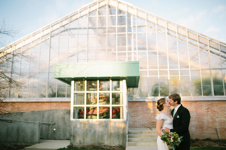 Matthaei Botanical Gardens wedding Nicole Haley Photography