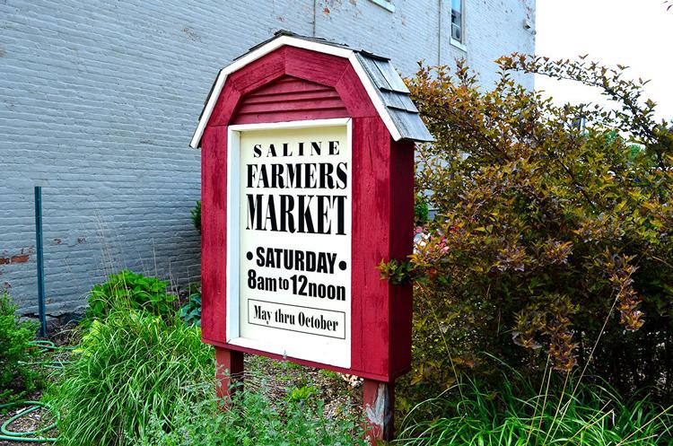 Saline Farmers Market things to do in Saline Michigan