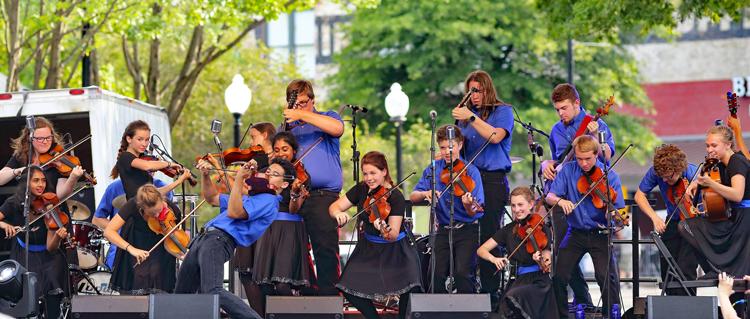 Saline Fiddlers Philharmonic Michigan