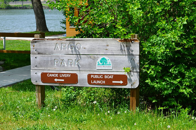 Argo Park canoe and kayak date Ann Arbor, Michigan
