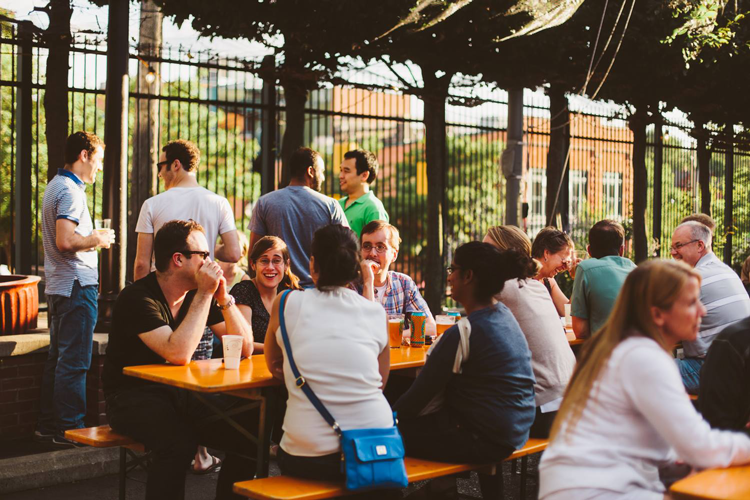 Bill's Beer Garden Ann Arbor best places for outdoor patio dining