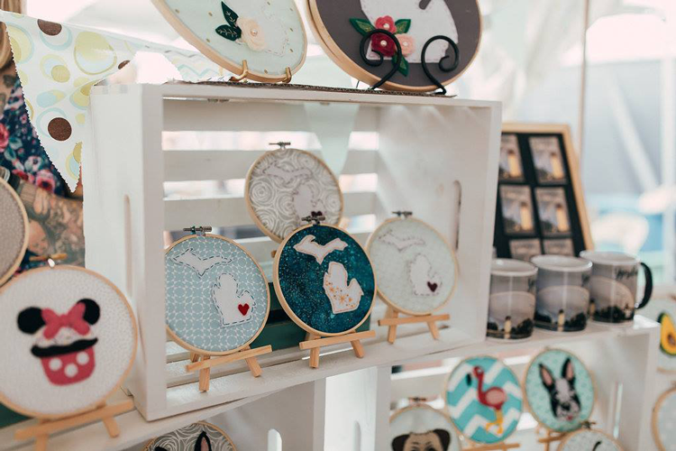 DIYpsi holiday craft fair Christmas events 2018 Ann Arbor