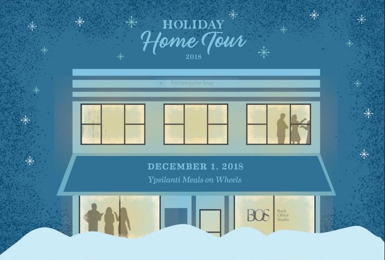 Ypsilanti Home Tour holiday Christmas events 2018
