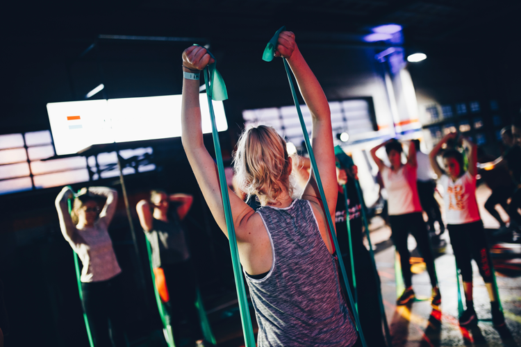 Group fitness classes Ann Arbor Michigan best gyms