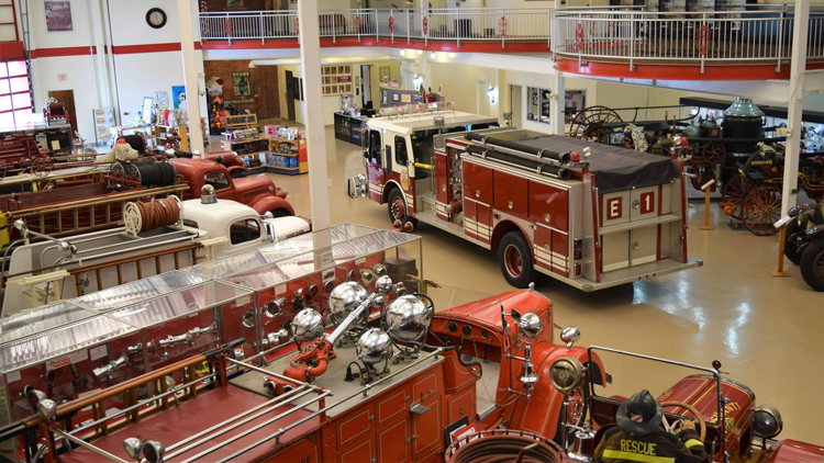Michigan Firehouse Museum Ypsilanti things to do