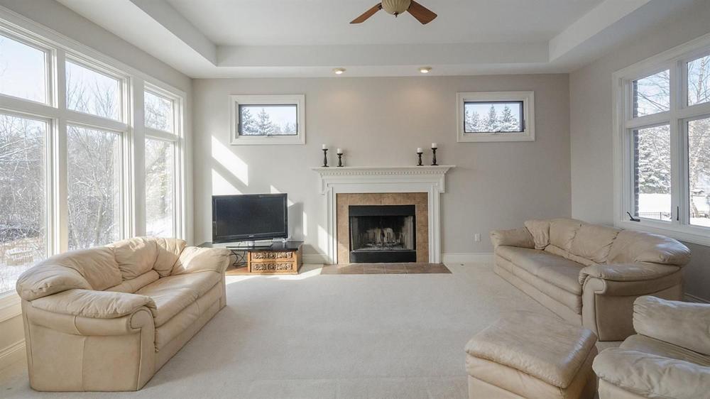 3991 Calgary Court - Fireplace in Den