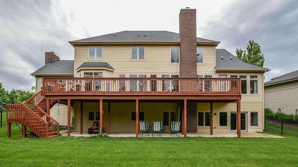 3991 Calgary Court - Backyard