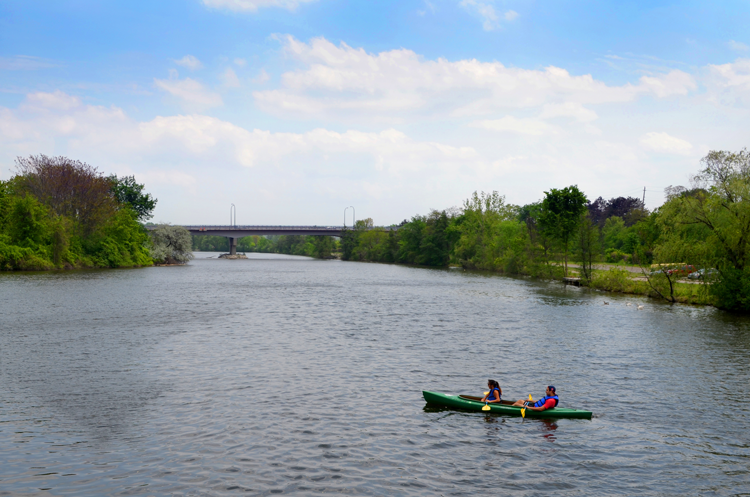 Gallup Park guide to kayaking in Ann Arbor Michigan