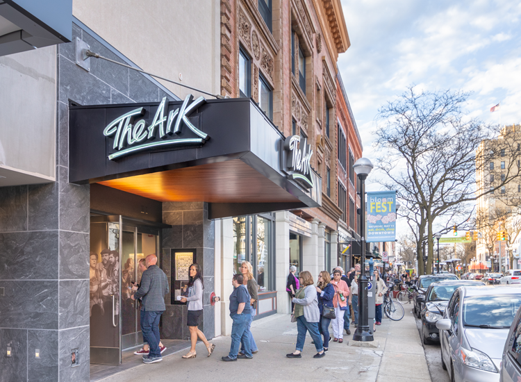 The Ark Ann Arbor music venues