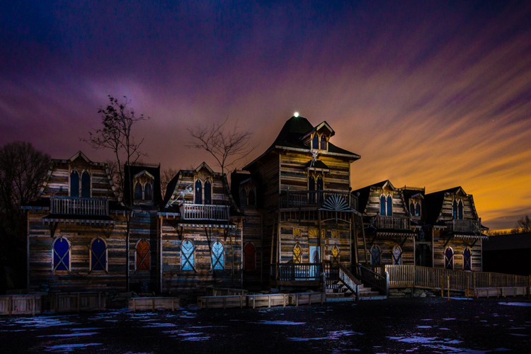 Haunted houses near Ann Arbor Michigan
