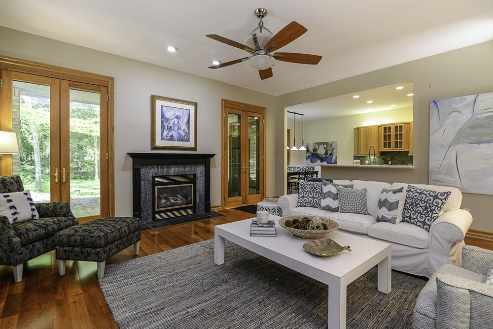 8510 Oak Ridge - Fireplace