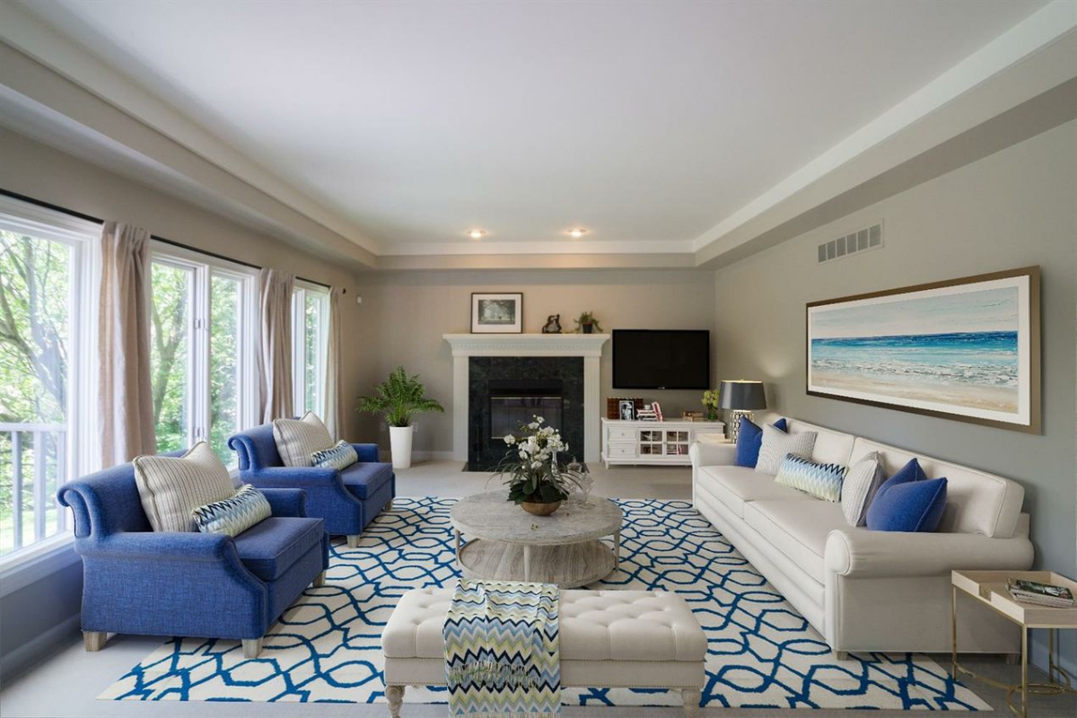 4875 Northgate Drive - Living Room