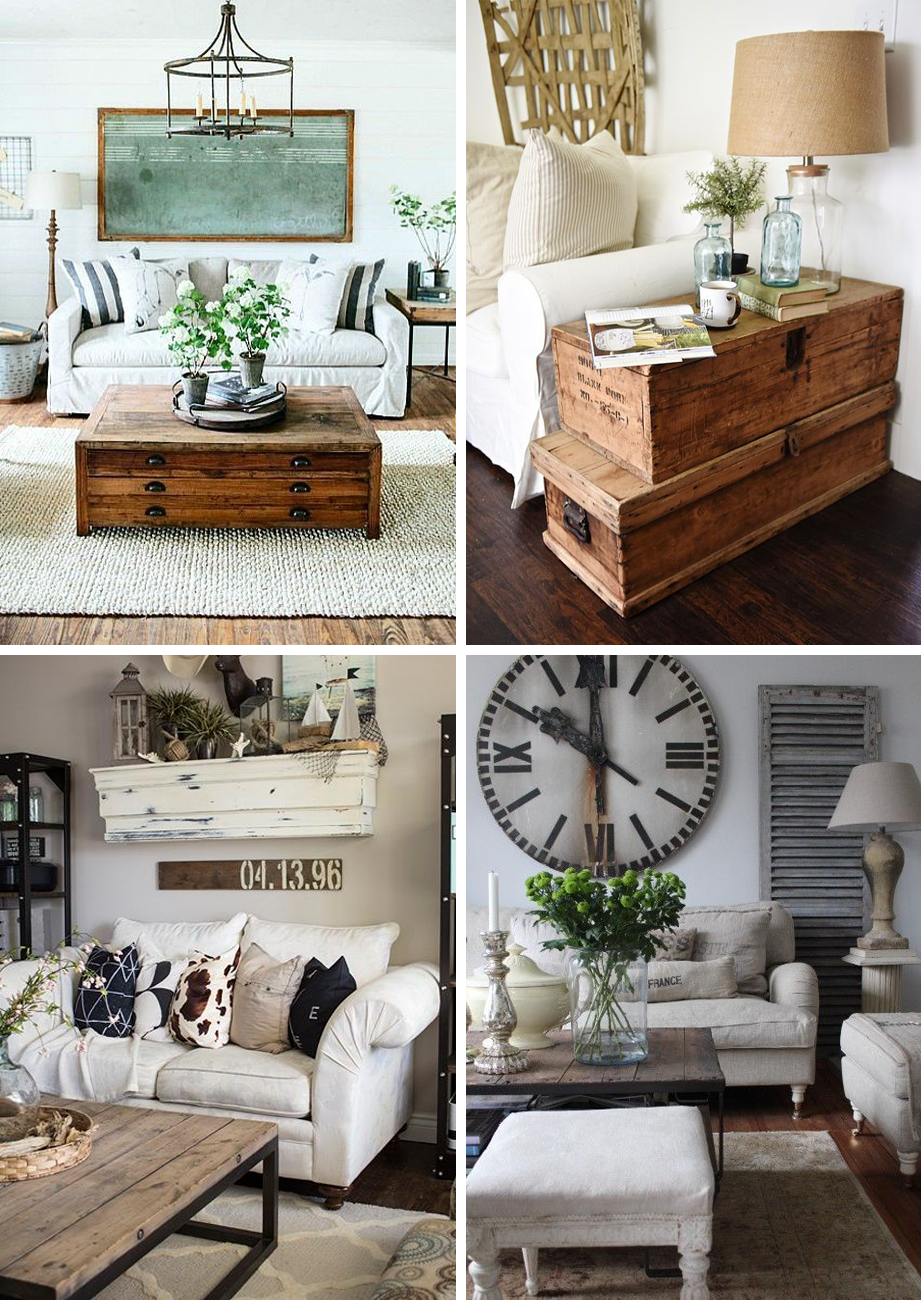Farmhouse Living Room Decor Ideas: Get The Farmhouse Look