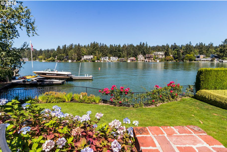 Marvelous 8 Stunning Waterfront Homes For Sale In Lake Oswego The Home Interior And Landscaping Eliaenasavecom