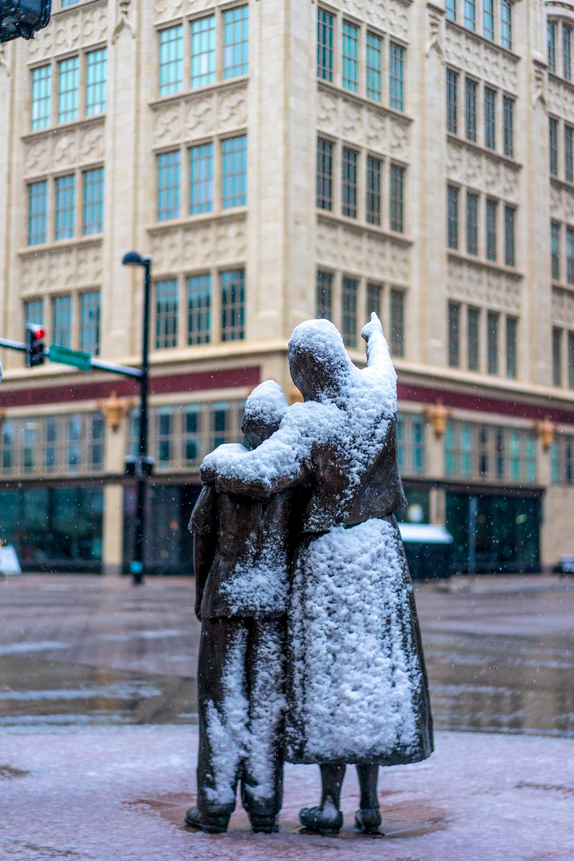 """""""Streetscape"""" The Douglas Avenue Sculptures"""