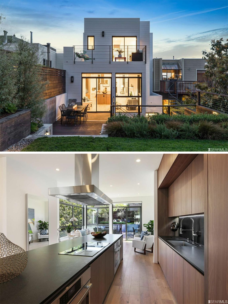 9 contemporary modern homes for sale in the bay area for Sale moderne