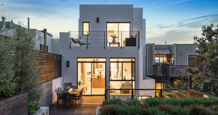 9 contemporary modern homes for sale in the bay area - What is a contemporary home ...