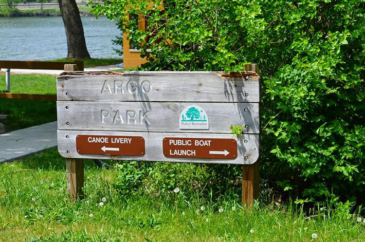 Argo Park canoe and kayak date Ann Arbor, Michigan